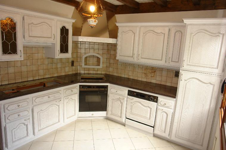 Peinture meubles de cuisine peinture meubles cuisine vert - Peinture meubles de cuisine ...