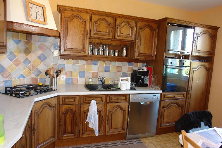 Renovation cuisine caen 21 design - Peindre une cuisine en chene rustique ...